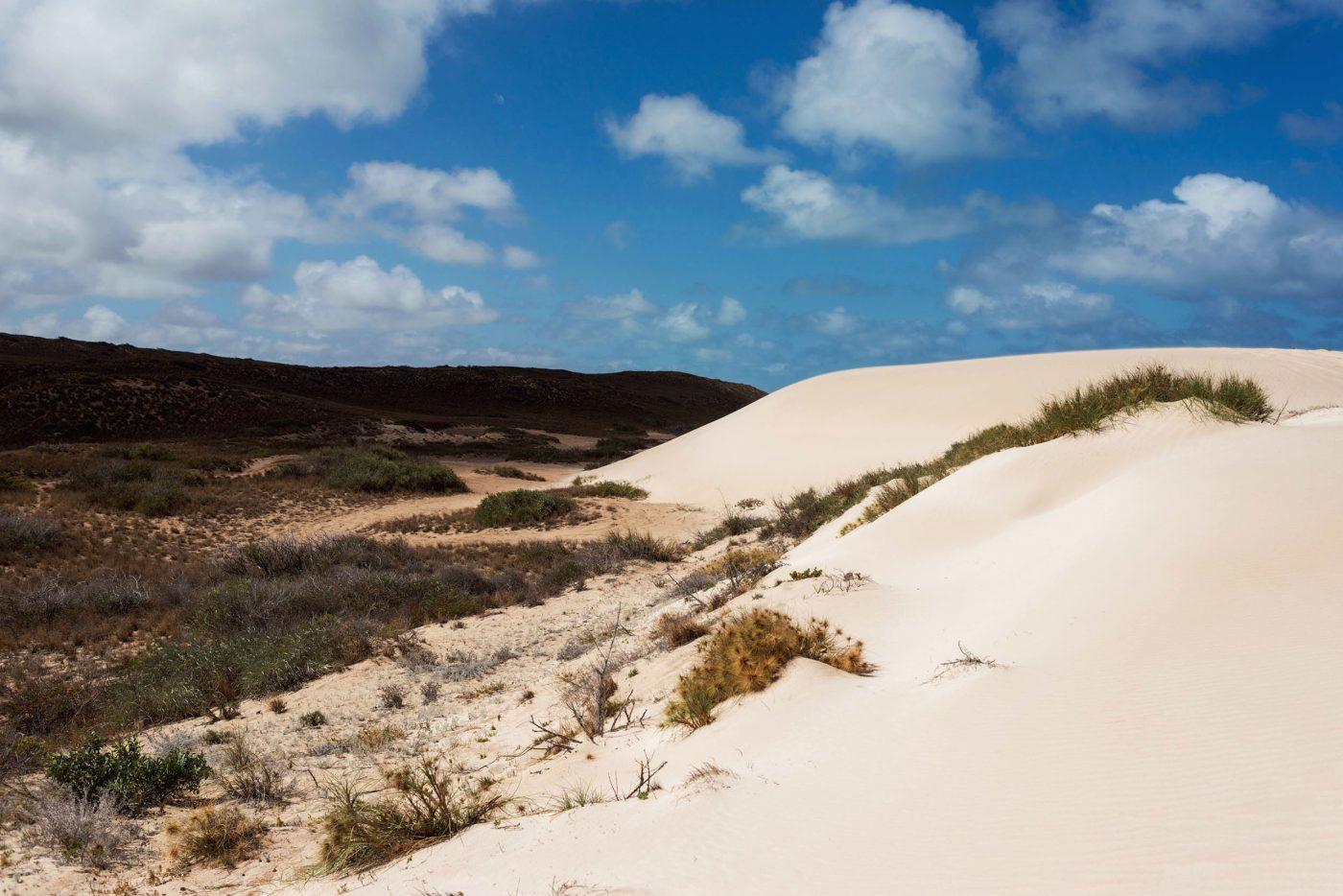 Sanddunes in Coral Bay